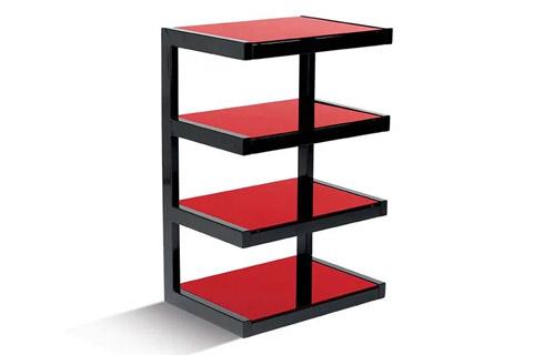 NorStone ESSE HIFI base module, 4 shelfs - Red