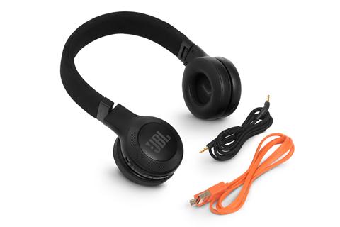 JBL E45 BT headphones, black