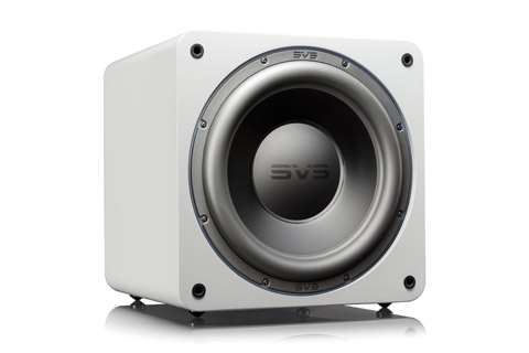 SVS SB-3000 sealed box subwoofer, white high gloss