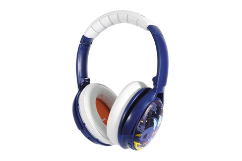 Buddy Phones Cosmos headphones, blue