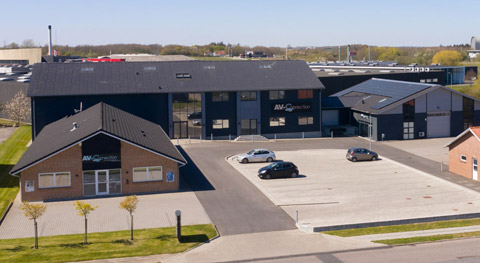 AV-Connection headquarter in Soenderborg, Denmark