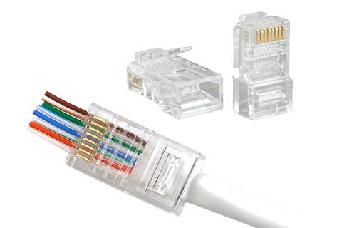 RJ45 CAT6 UTP Modular connector