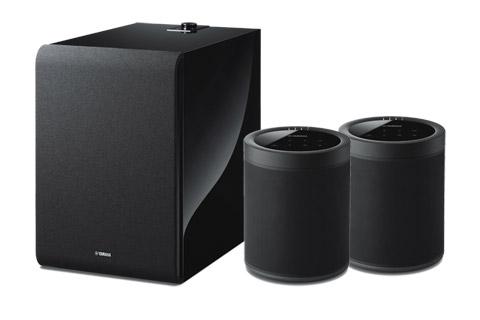 Yamaha MusicCast 20 højttaler bundle, inkl. SUB100 subwoofer, sort
