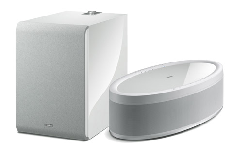 Yamaha MusicCast 50 with subwoofer, white