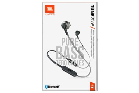 JBL T205BT in-ear hovedtelefoner