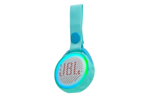JBL JR POP portable speaker for kids, teal