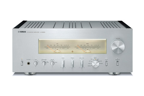 Yamaha A-S3200 integrated amplifier, silver