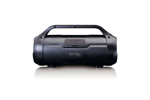 Lenco SPR-070 Boombox - Back