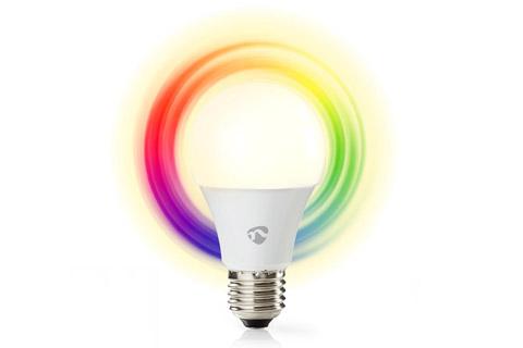 Nedis SmartLife E27 LED bulb, 9W, RGB + 2700K