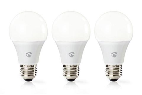 3 X Nedis SmartLife E27 LED bulb, 9W, 2700K