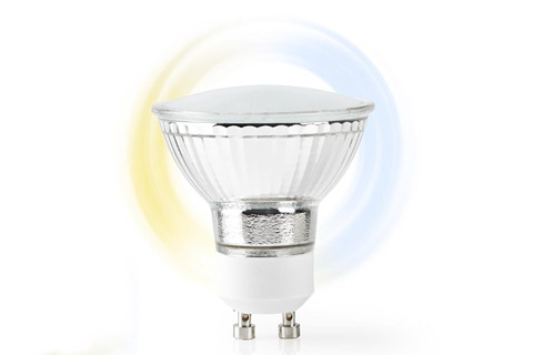 Nedis SmartLife GU10 LED bulb, 5W, 2700 - 6500 K - Side