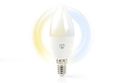 Nedis SmartLife E14 LED bulb, 4.5W, 2700 - 6500 K
