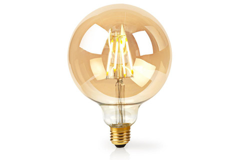 Nedis SmartLife E27 Filament LED bulb, 5W, 2200K