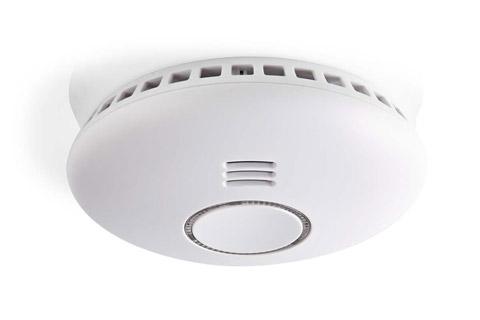 Nedis SmartLife smart smoke alarm - Side