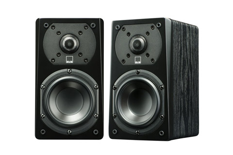SVS Prime Satellite pair, black ash