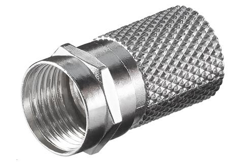 F-stik til 8,2 mm. kabel
