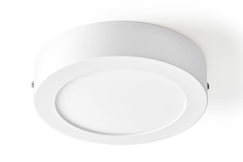 SmartLife Smart LED ceiling lamp, 12W, round, small, 2700 - 6500 K