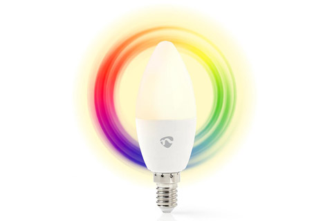 SmartLife E14 LED bulb, 4.5W, RGB + 2700K