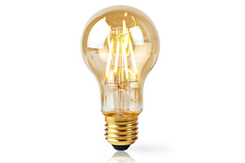 SmartLife E27 Filament LED bulb, 5W, A60, 2200K