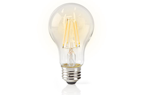 SmartLife E27 Filament LED bulb, 5W, A60, 2700K