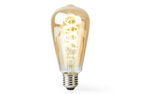 SmartLife E27 Filament LED bulb, 5.5W, ST64, 1800 - 6500 K