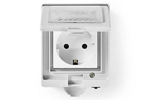 SmartLife Wi-Fi outdoor plug, waterproof (IP55) - Open