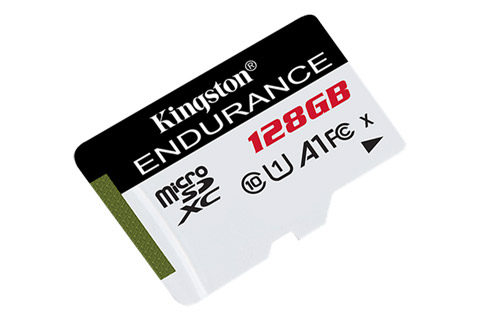 Kingston Endurance microSD(SDHC) card - 128 GB