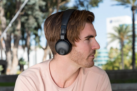 JLab Studio ANC on-ear headphones