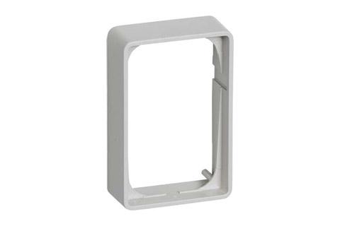 LK FUGA® Baseline 50-ramme - 1.5 modul, 21 mm., lysegrå