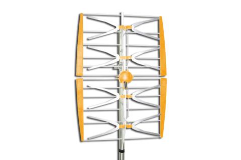 Televes Gitter LTE700 udendørs UHF/DVB-T grid antenne, 4 dipoler, passiv 13 dB
