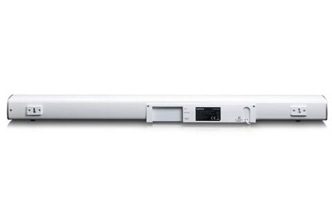 Lenco SB-081 Soundbar, white - Rear