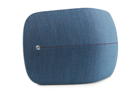 Beoplay A6 Cover sideview, Dusty Blue (A6 not included)