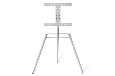 Bülow BS19 TV stand, white oak/white