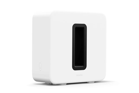 SONOS SUB Gen3 wireless active subwoofer, white