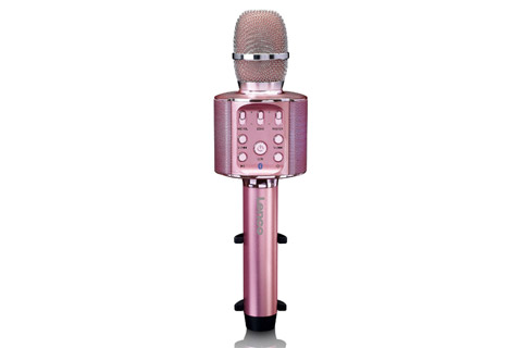 Lenco BMC-090 Karaoke microphone - Pink