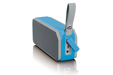 Lenco BT-191 Bluetooth speaker with lights -  Blue side