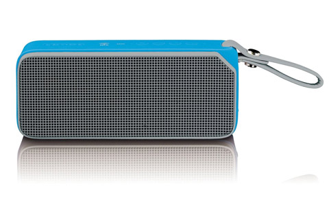Lenco BT-191 Bluetooth speaker with lights -  Blue front