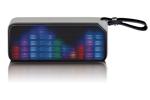 Lenco BT-191 Bluetooth speaker with lights -  Black front
