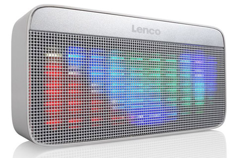 Lenco BT-200 Bluetooth speaker with lights -  Light