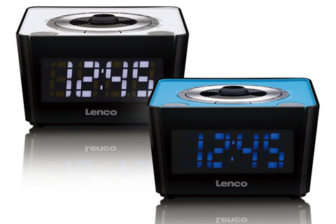 Lenco CR-16 FM clockradio with projector