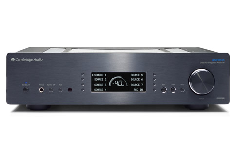 Cambridge Audio Azur 851A integrated amplifier, black
