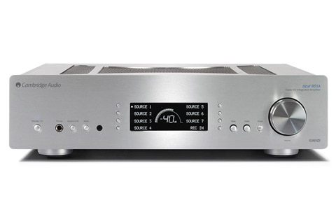 Cambridge Audio Azur 851A integrated amplifier, silver