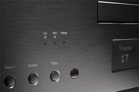 Cambridge Azur 851C CD-player, DAC and preamp, black