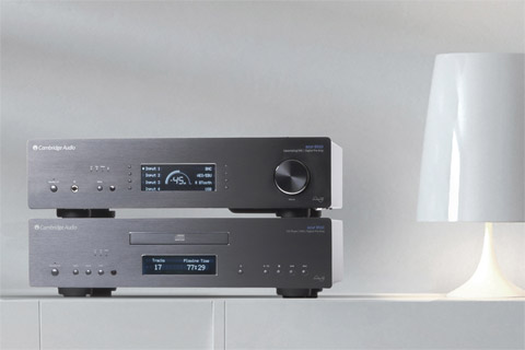 Cambridge Azur 851C CD-player, DAC and preamp, lifestyle