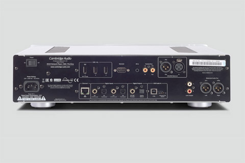 Cambridge Audio Azur 851N network player, silver