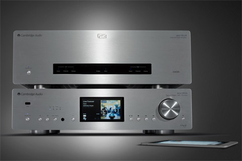Cambridge Audio Azur 851W power amplifier, lifestyle