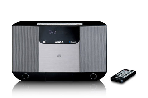 Lenco DAR-045 CD, FM and DAB+ radio - Front