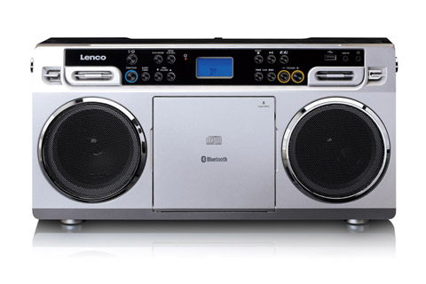 Lenco SCD-580 Ghettoblaster with Bluetooth - Front