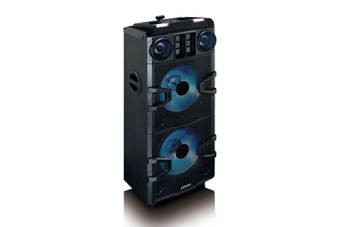 Lenco PMX-850 party speaker - Front