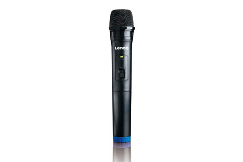 Lenco PMX-240 portable speaker with battery - Microphone